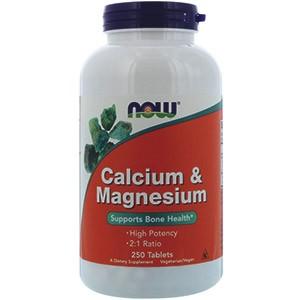 Кальций и Магний от компании Now Foods