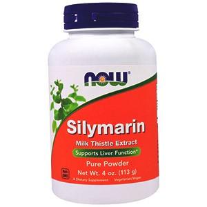 Now Foods, Силимарин, чистый порошок