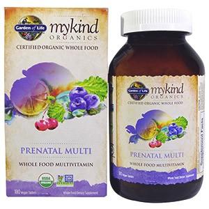 Garden of Life, MyKind Organics, пренатальный мультивитамин