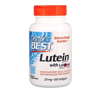 Лютеин с Lutemax 2020 от компании Doctor's Best