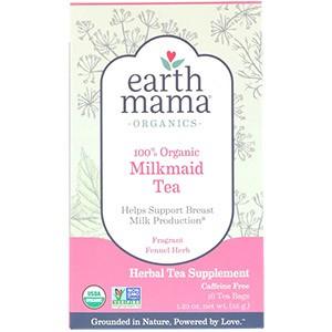 Earth Mama, Органический, 100% органический чай для кормящих мам