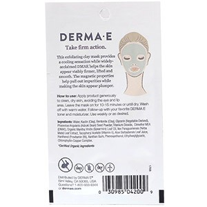 Derma E, Укрепляющая магнитная маска с глиной