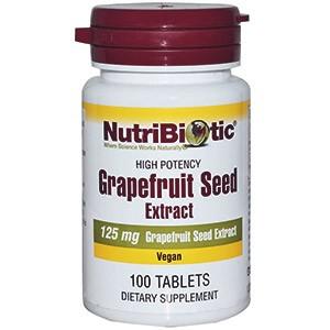 Семена грейпфрута от компании NutriBiotic
