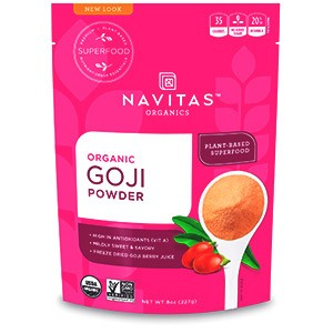 Navitas Organics, Organic, порошок ягод годжи