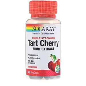 Тройная сила, вишневый экстракт от фирмы Solaray