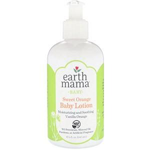 Earth Mama, Детский лосьон со сладким апельсином и ванилью