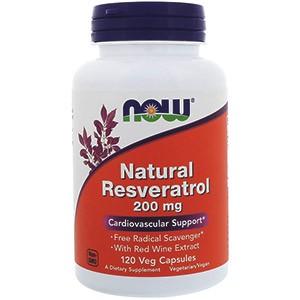 Натуральный ресвератрол от компании Now Foods