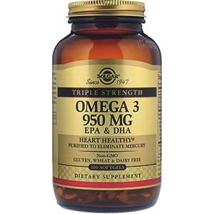Solgar, Омега-3 ЭПК и докозагексановая кислота