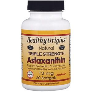 Healthy Origins, Астаксантин тройной силы