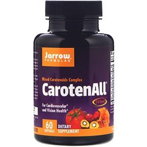 Jarrow Formulas, CarotenALL, комплекс из смеси каротиноидов