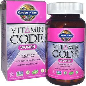 Garden of Life, Витаминный код, для женщин