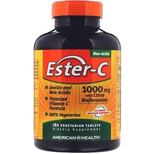 American Health, Эстер-C, 1000 мг с биофлавоноидами цитрусовых