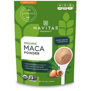 Navitas Organics, Органический, порошок маки