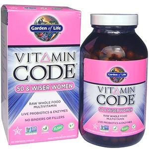 Garden of Life, Витаминный код, для женщин от 50 лет и старше