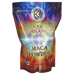 Earth Circle Organics, Сырой органический порошок мака
