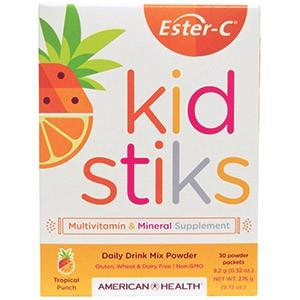 American Health, Эстер-C Кидстикс Растворимый напиток на каждый день