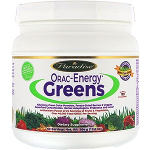 Paradise Herbs, ORAC-Energy Greens