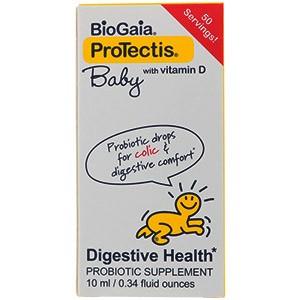 BioGaia, ProTectis, для малышей, с витамином D