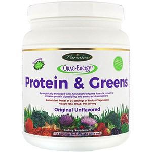 Paradise Herbs, ORAC-Energy, белок и зелень