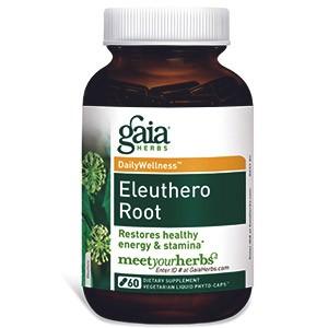 Gaia Herbs, Здоровье день за днем, Элеутерококк