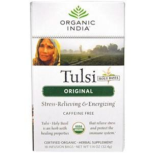 Organic India, Чай из туласи (священного базилика)