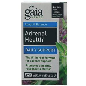 Gaia Herbs, Здоровье надпочечников, Ежедневная поддержка