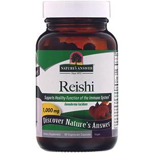 Nature's Answer, Рейши, стандартизированный экстракт лекарственных трав