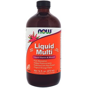 Liquid Multi, с ароматом тропического апельсина