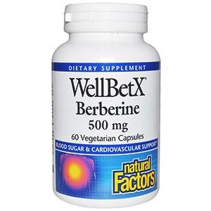 Natural Factors Берберин WellBetX