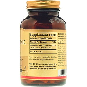 Пантотеновая кислота витамин B5 что это такое для чего нужен организму и как принимать