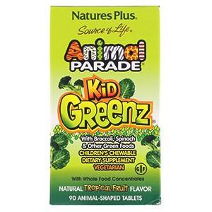 Animal Parade, Kid Greenz от компании Nature's Plus Source of Life