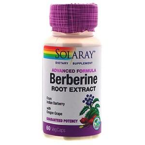 Solaray Экстракт с берберином, продвинутая формула
