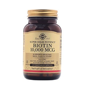Solgar, Биотин (Biotin)