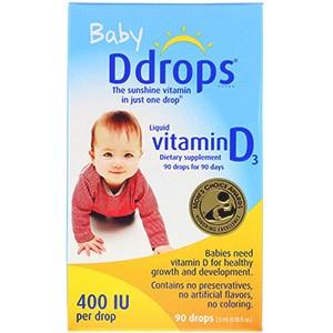 Ddrops, Жидкий витамин D3 для детей