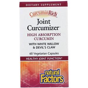 Natural Factors CurcuminRich, средство для суставов на основе таракуркумина
