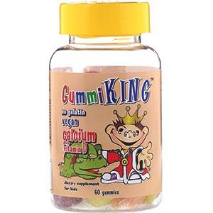 GummiKing, Кальций с витамином D для детей
