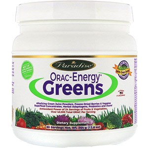 Paradise Herbs,ORAC-Energy Greens