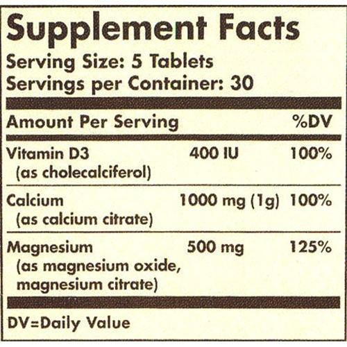состав таблетки кальций магний витамин D3