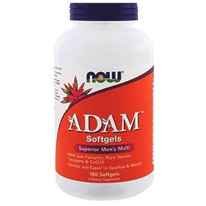 Витаминный комплекс ADAM от американской компании Now Foods. Полное описание добавки, разбор состава, как компоненты влияют на мужское здоровье. Инструкция по применению. Вариант выгодной покупки