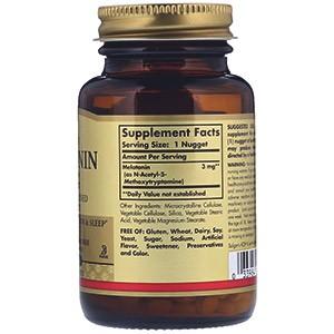 Solgar, Мелатонин, 3 мг