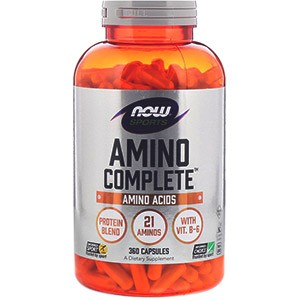 Now Foods, Amino Complete, 360 капсул
