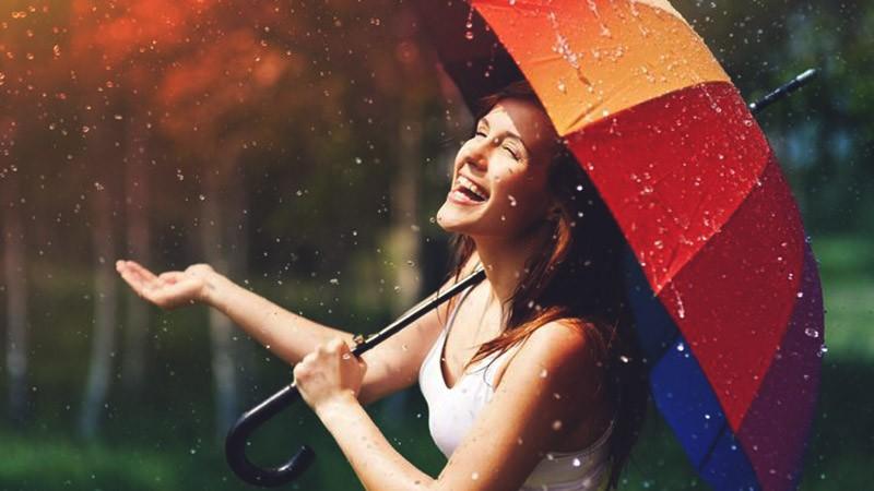 счастье под дождем