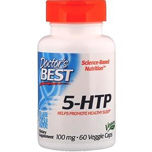 Doctor's Best, 5-гидрокситриптофан Best, 100мг, 60растительных капсул