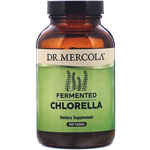 Dr. Mercola, Ферментированная хлорелла, 450таблеток