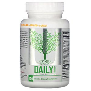 Universal Nutrition, Daily Formula, мультивитамин для приема каждый день, 100 таблеток