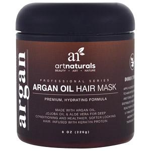 Artnaturals, Маска для волос с шалфеем и аргановым маслом, 226 г