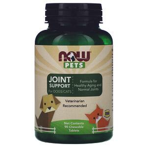 Now Foods, Now Pets, здоровье суставов собак/кошек