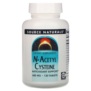 Source Naturals, N-ацетилцистеин, 600 мг