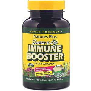 Nature's Plus, Source of Life, усилитель иммунитета, 90 таблеток