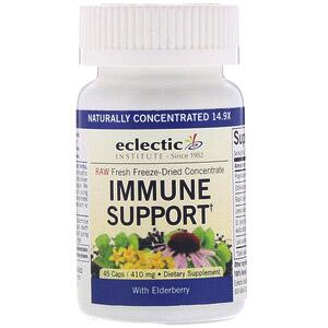 Eclectic Institute, Поддержка иммунитета, 410 мг, 45 капсул